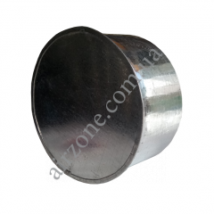 Заглушка Ø110 з оцинкованої сталі