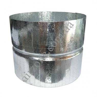 Муфта Ø150 з оцинкованої сталі