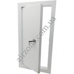 Дверцята ревізійні металеві 15х30 з замком