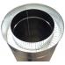 Труба сендвіч (утеплена) нержавійка в оцинковці Ø120/180мм  / 0,25 метра / сталь 1,0мм