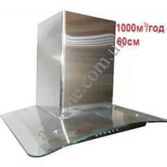 Кухонная вытяжка ELEYUS Optima 1000, 60см стекло