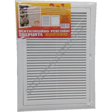 Дверка пластикова МініМакс 250х350 з вентиляцією