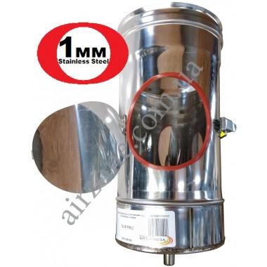 Ревізія 160мм з нержавіючої сталі / сталь 1мм /