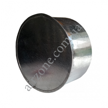 Заглушка Ø125 з оцинкованої сталі