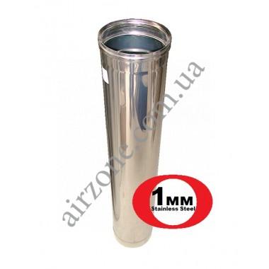 Труба з нержавіючої сталі Ø160мм / 1метр / товщина 1,0мм