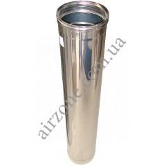 Труба з нержавіючої сталі 100мм 1метр