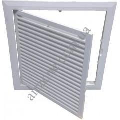 Дверка пластикова МініМакс 20х20 з вентиляцією