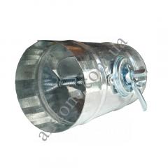 Дросель-клапан Ø100мм з оцинкованої сталі