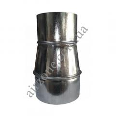 Переход (редуктор) Ø100/120 из оцинкованной стали