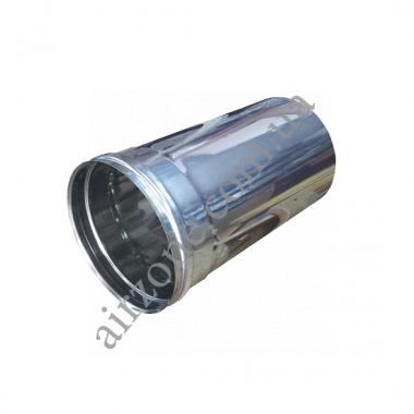Труба з нержавіючої сталі Ø220мм / 0,3 метра / товщина 0,5мм
