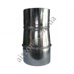 Переход (редуктор) Ø100/110 из оцинкованной стали