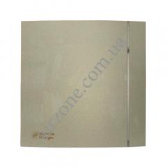Вентилятор S&P Silent 100 CZ Design 4C champagne