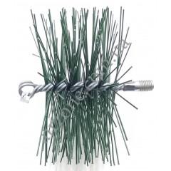 Щітка для чистки труб, діаметр 170мм (під М12)