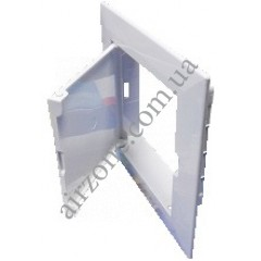 Дверка ревізійна пластикова Домовент 10х10 см