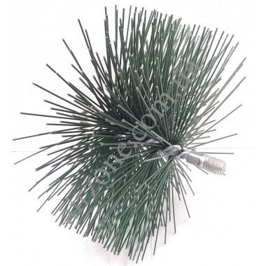 Щітка для чистки труб діаметр 160мм (під М12)