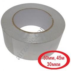 Фольга 50мм*45метров алюминиевая на липкой основе