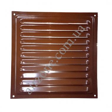 Металева решітка Вентс МВМ 125 коричнева