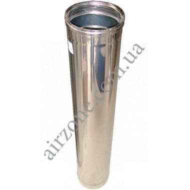 Труба з нержавіючої сталі Ø110мм / 1метр / товщина 0,5мм
