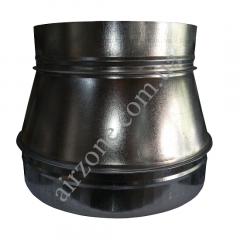 Перехід (редуктор) Ø250/315 з оцинкованої сталі