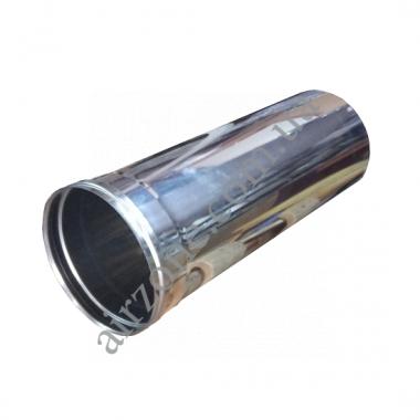 Труба з нержавіючої сталі Ø80мм / 0,5 метра / товщина 0,5мм