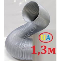 Гофра стальна оцинкована Ø100мм (довжина до 1,3м)