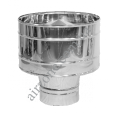 Дефлектор 110мм нержавейка