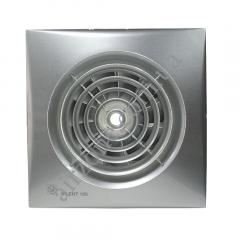 Вентилятор S&P Silent 100 CZ silver