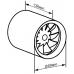 Канальний вентилятор Vents 100 Quietline DUO