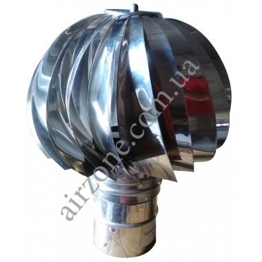 Турбовент 110мм з нержавіючої сталі