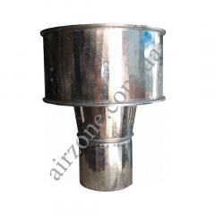 Дефлектор (волпер) Ø100 з оцинкованої сталі