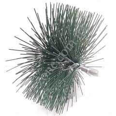 Щітка для чистки труб, діаметр 160мм (під М12)