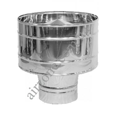 Дефлектор 150мм з нержавіючої сталі