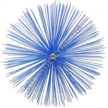 Щітка для чистки труб діаметр 250мм (під М12)