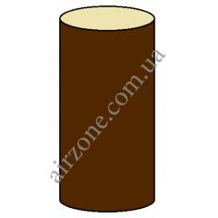 Труба водосточная 100мм, коричневая, длинна 3м