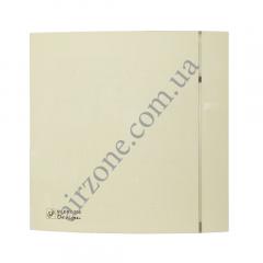Вентилятор S&P Silent 100 CZ Design 4C ivory