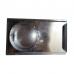 Шибер вентиляційний Ø100мм з оцинкованої сталі