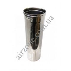Труба з нержавіючої сталі Ø100мм 0,5метра
