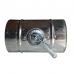 Дросель-клапан (заслінка) Ø125мм з оцинкованої сталі