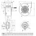 Вентилятор Bahcivan bdrs 120-60