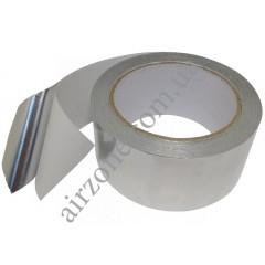 Фольга 50мм*23метра алюминиевая на липкой основе