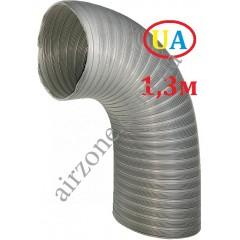 Гофра стальна оцинкована Ø150мм (довжина до 1,3м)