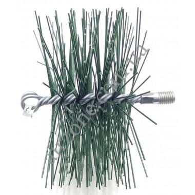 Щітка для чистки труб діаметр 170мм (під М12)