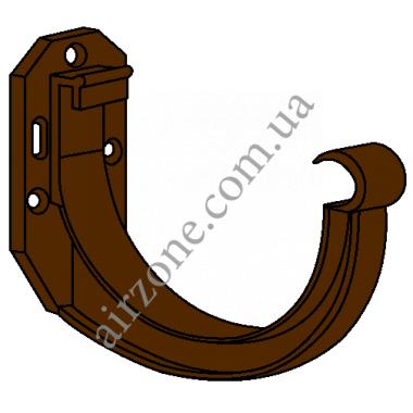 Кронштейн ринви 130мм, коричневий, RainWay