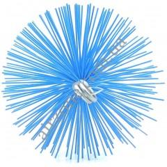Щітка для чистки труб, діаметр 100мм (під М12)