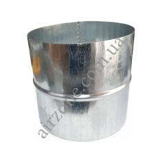 Ниппель Ø100 из оцинкованной стали
