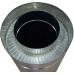 Труба сендвіч (утеплена) нержавійка в нержавійці 180/250мм  / 0,5метра / сталь 1мм