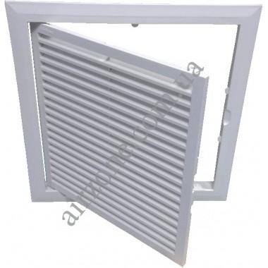 Дверка пластикова МініМакс 200х200 з вентиляцією