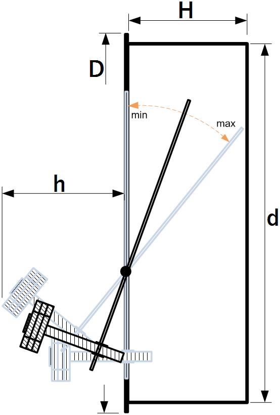 стабілізатор тяги креслення