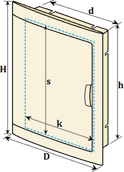 розміри дверки Двайсен