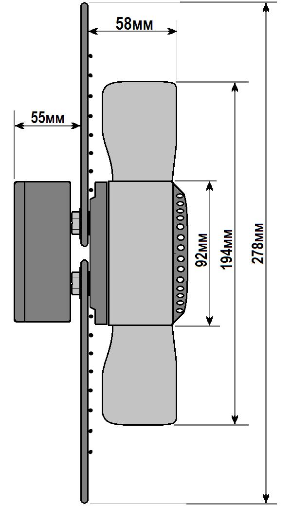 схема флюгер ywf 2e 200 a